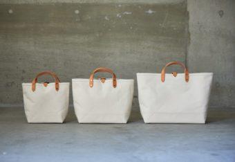 質の高い素材で作られる、丈夫で使いやすいバッグ。「KEESE」の帆布トート