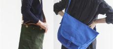 秋冬コーデのワンポイントに。軽快さを感じる「倉敷帆布」のショルダーバッグ特集