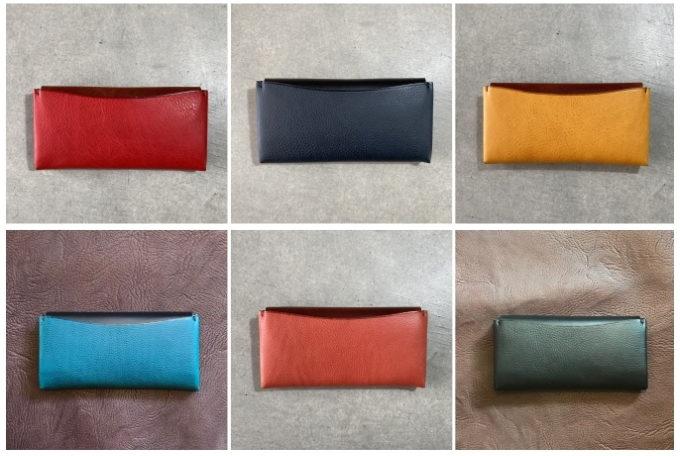 中身を入れても美しく出し入れ快適。機能性と美しさを兼ね備えた「m.ripple」の長財布