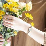 幸せな時間を共に歩む腕時計。上品なデザインがあなたら...