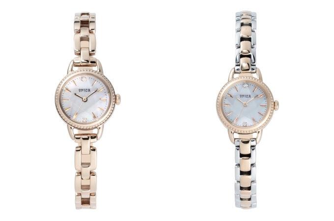 幸せな時間を共に歩む腕時計。上品なデザインがあなたらしさを引き出す「SPICA」