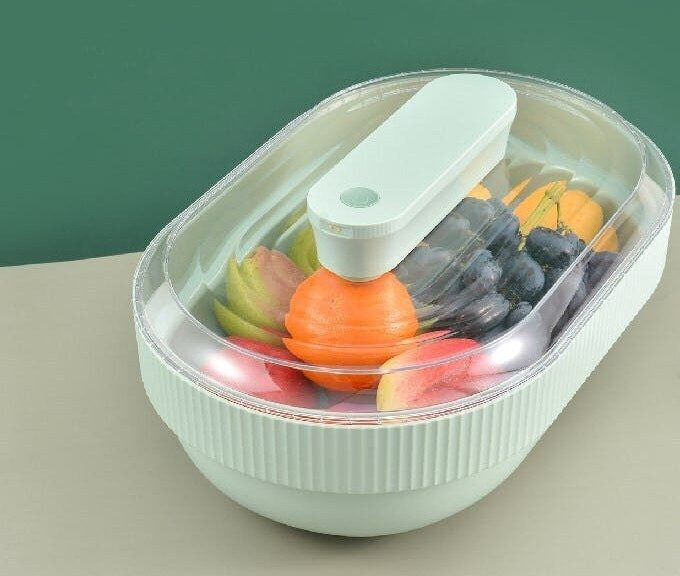 果物や野菜本来の鮮度を7日間キープ。優れた機能満載の除菌フルーツトレー「GOHEE」