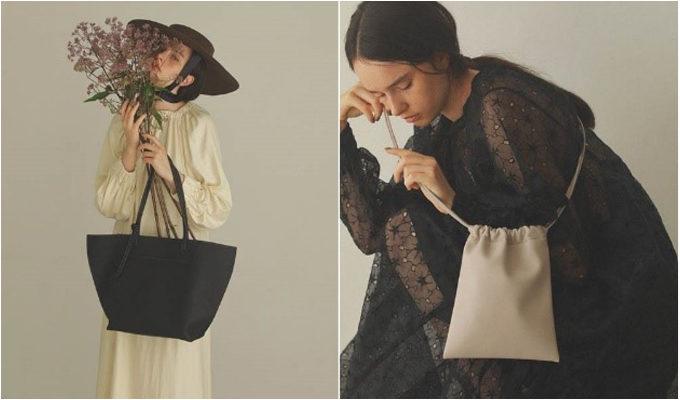 バッグからつくる秋の装い。シンプルでトレンドを押さえた「TOPKAPI EFOLE」のバッグ