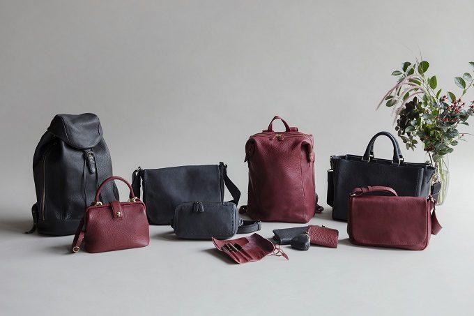 秋冬の情景が思い浮かぶよう。「土屋鞄製作所」人気シリーズに季節限定カラー登場