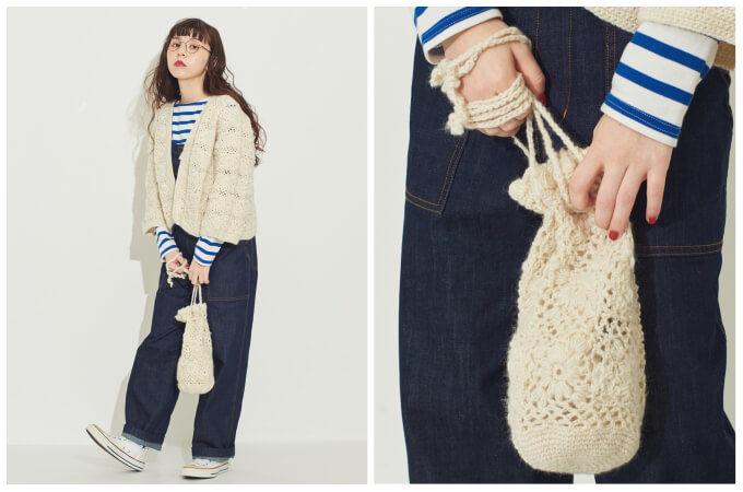 ついつい撫でたくなる触り心地。ファーやニット素材を使った冬バッグ<5選>