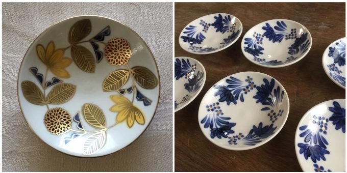 伝統的な技法で作られる、かわいらしいお皿。「Craft Studio Karakusa」の金彩の絵付け皿
