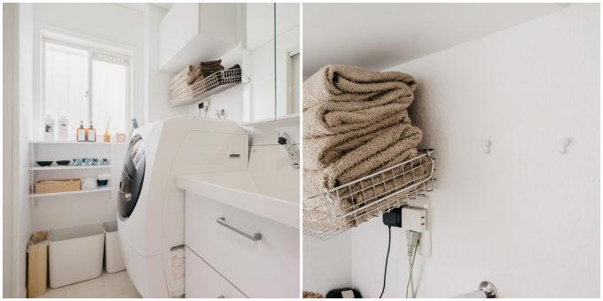 賃貸の小さな空間も素敵に変えられる。洗面所をすっきり&おしゃれに見せる簡単アイデア集