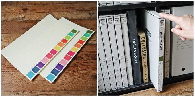 書類や小物を放り込むだけ。見た目もすっきり美しい「HI MOJIMOJI」の収納ボックス