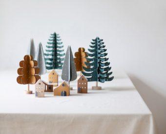 クリスマスまでの日々がぐっと楽しくなる。北欧発の美しいペーパークラフトで作るインテリア