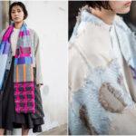 冬の装いが即華やぐ。無造作に巻くだけで絵になる「POLS」の大判ストール