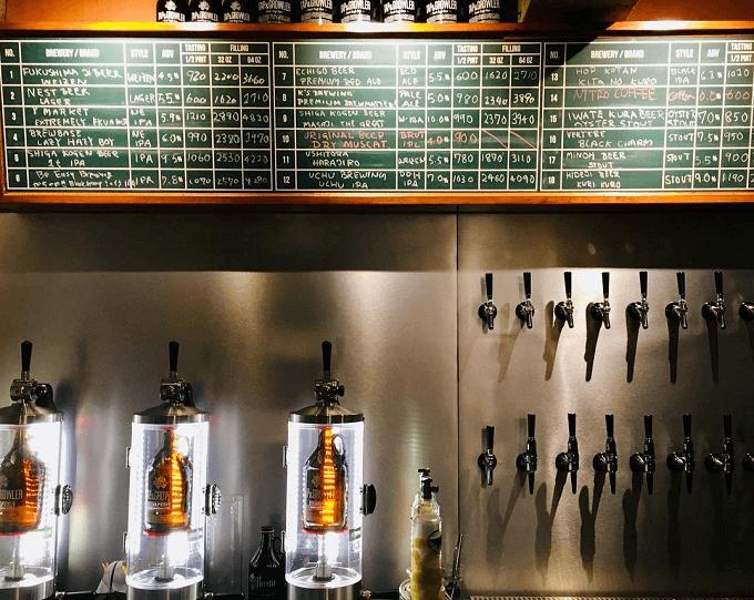 エコでスタイリッシュなビールライフを。量り売りクラフトビール専門店「TAP&GROWLER」
