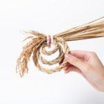 お正月のしめ縄飾りを家で作れる。「京都職人オンライン...