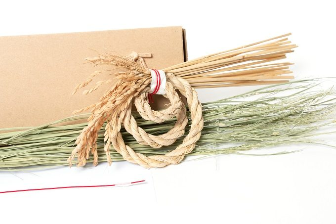 お正月のしめ縄飾りを家で作れる。「京都職人オンラインワークショップ」