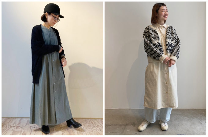冬はこう着る。すぐ真似できる「シャツワンピース」のオシャレ着こなし術