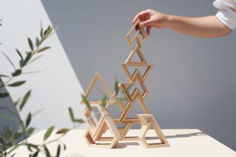 ギフトにおすすめ。インテリアに馴染むデザインが魅力の「Sukima.」の木製玩具