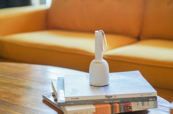 気になったらすぐ掃除が習慣に。インテリアになじむおしゃれなハンディ掃除機「Vaccumi」