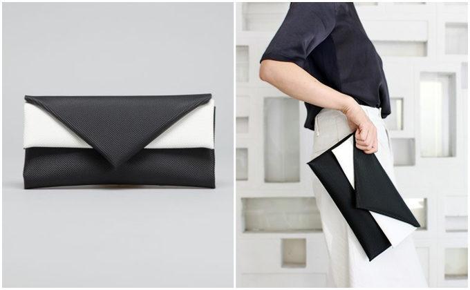 主役級の存在感を放つ。コーディネートに華やぎを添える「ELEMOOD」のミニバッグ