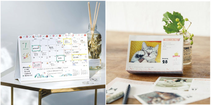 癒しや楽しみを与えてくれるデザイン。「FELISSIMO」で選ぶ2021年カレンダー