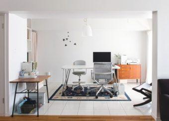 自宅でも集中して仕事が進められる。『無印良品でつくるワークスペ-ス』
