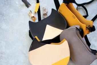 上質&上品な本革製。長く使い続けられる、「NECOREPA/」の猫の形のポシェット