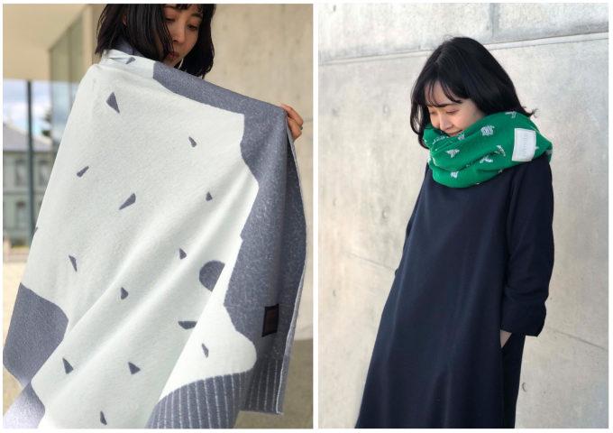 山形県・米沢の地で生まれる唯一無二のデザイン。冬を彩る「nitorito」のストール