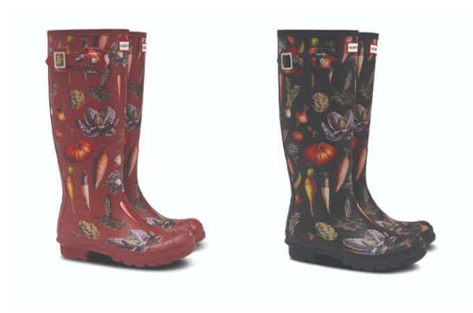 『ピーターラビット』の世界がブーツやバックパックに。「HUNTER」からコラボアイテムが登場