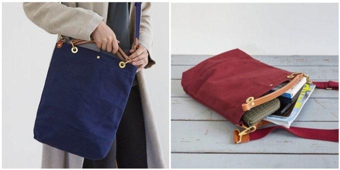 定番から個性派まで。「ちょっとそこまで」の外出にサッと持ちたい帆布バッグ特集
