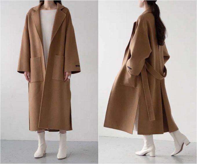 コート姿でもスタイルアップ。シルエットと素材にこだわった「Na.e」のハンドメイドコート