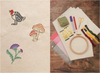 枠の中に広がる刺繍の世界。おうち時間で楽しめる刺繍の基本とはじめ方