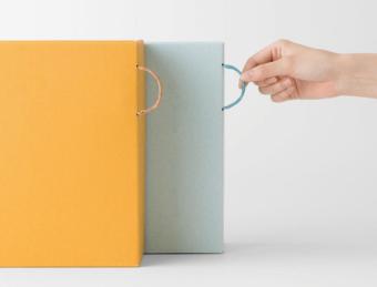 書類や仕事道具のおしゃれな収納アイテム。色で楽しむ「大成紙器製作所」の収納ボックス