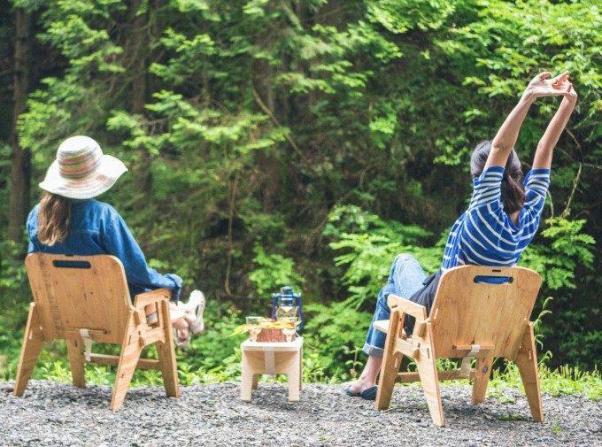 インドア・アウトドアともに活躍。自然味あふれる木目が美しい「YOKA」木製グッズ