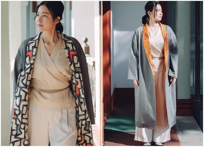 新しい日常のおうちワードローブに。着物を彷彿とさせる豪奢な羽織り&ワンピース