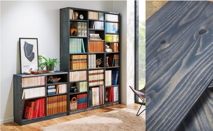 ナチュラル&モダンな収納インテリア。リビングや寝室に置きたい日田杉が美しい収納棚