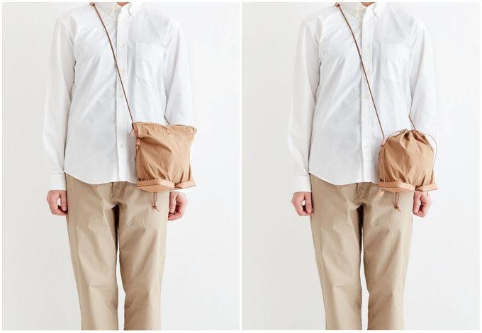 ミニマルデザインの極み。牛革の魅力を最大限に活かした「i ro se」のミニショルダーバッグ