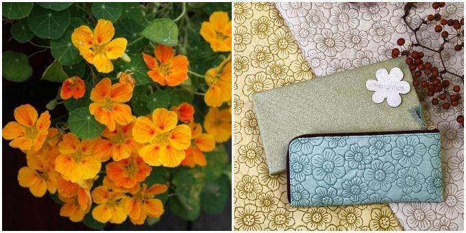 春財布に持ちたい。明るいカラーや豊かな質感が楽しい「nasturtium」の革財布