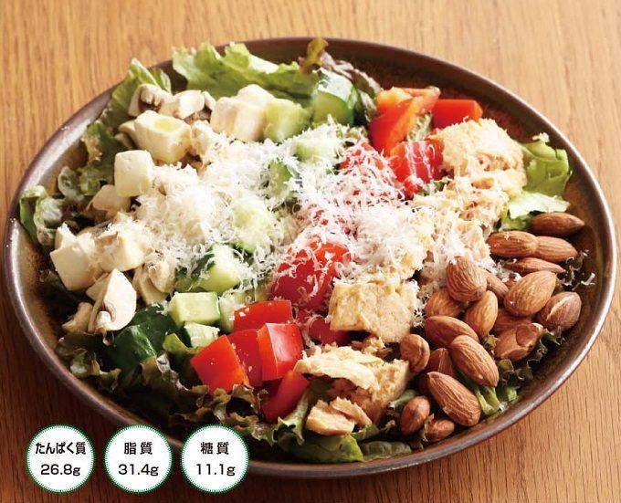 一皿で良質なたんぱく質や脂質も摂れる。具だくさんで満足度大なツナのサラダレシピ<2選>