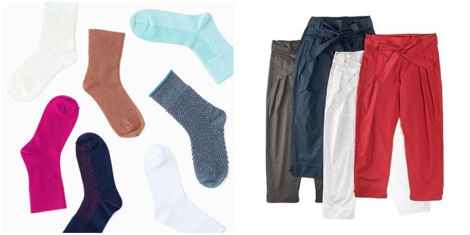 しめつけがなく、心地よく過ごせる。「RELIEFWEAR」のゆるやかな靴下&パンツ