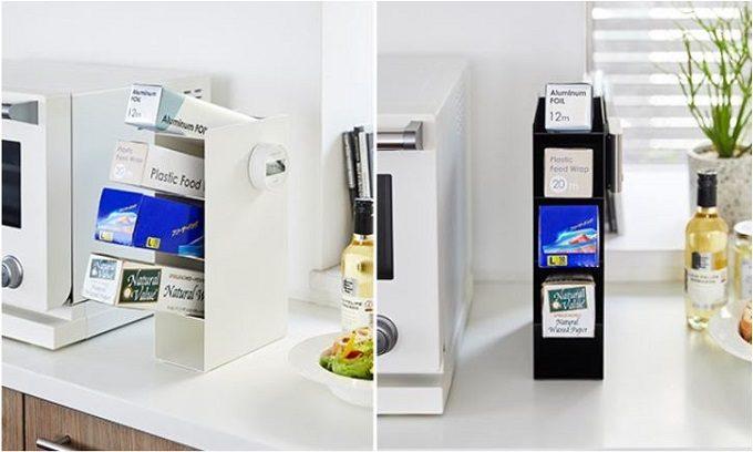 狭いキッチンにも収納スペースを賢く確保。「tower」の便利な収納アイテム<3選>
