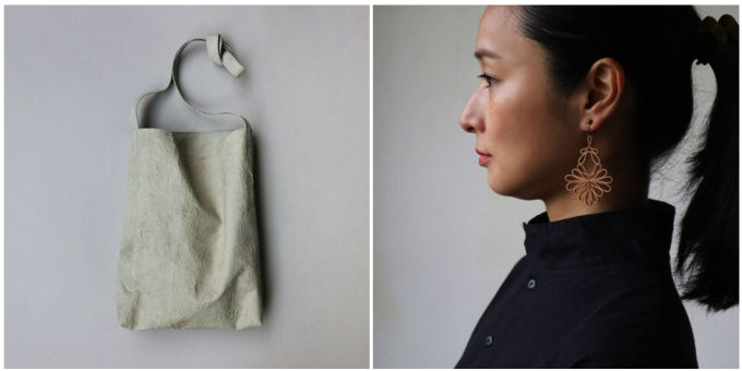シンプルで使いやすい構造にも惹かれる。それぞれの革の質感が楽しめる「WAQWAQ」の革財布