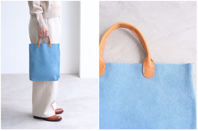 持つだけで気分が上がる。上品で使いやすい春色の革バッグ特集