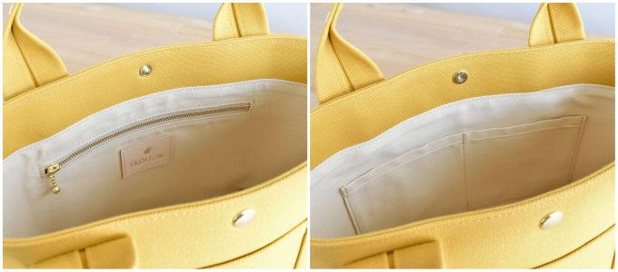 丈夫で型崩れしにくい。永く愛用できる耐久性を備えた「EKOLLON」の帆布ミニトート