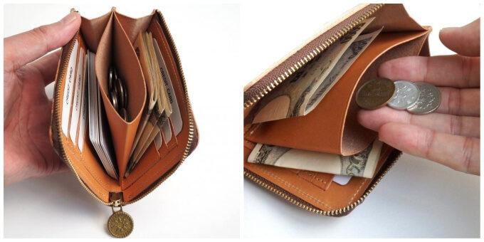 コンパクトなのに大容量。大人可愛い柄も魅力の「ヘリクリサム」の革財布
