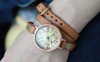 使い続けるほど愛おしい。すべてハンドメイドで唯一無二な「Tegami」のアンティーク風腕時計
