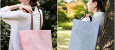 メッシュクロスが軽やか。春に持ちたい「ALLTE CLOTH」のトートバッグ&ポーチ