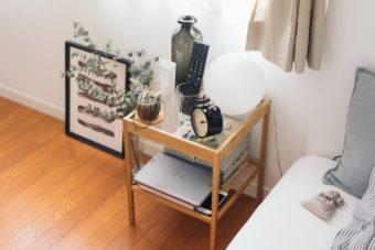 ベッドまわりを整えよう。ワンルームのインテリアコーディネート実例