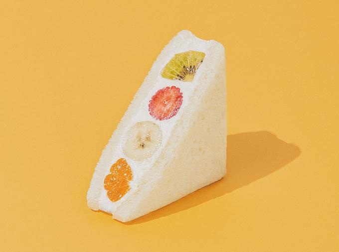 瑞々しい果物に惚れぼれ。見た目も味も贅沢感あふれるヴィーガンフルーツサンド
