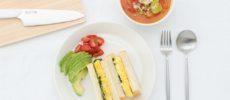 体が喜ぶ春メニュー。旬の野菜いっぱいのミネストローネ&彩りきれいなオムレツサンドのレシピ