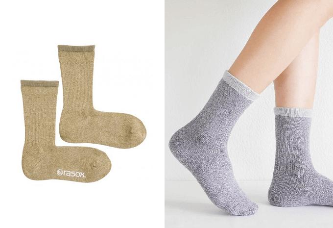 一度は試してみてほしい履き心地。春コーデを快適に彩るL字型靴下「rasox」