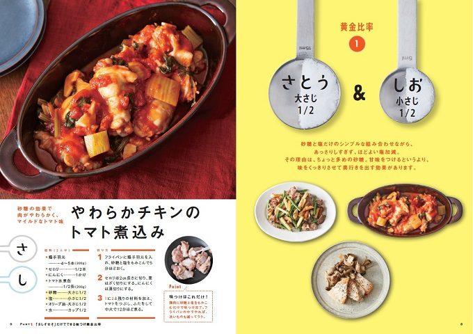 基本の調味料「さ・し・す・せ・そ」だけあれば完成!簡単でおいしい主菜&副菜レシピ特集