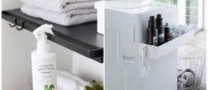 狭い洗面所やキッチンで活躍!「tower」の収納アイテムでつくるインテリアアイデア